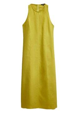 Massimo Dutti - MIT NECKHOLDER - Freizeitkleid - yellow