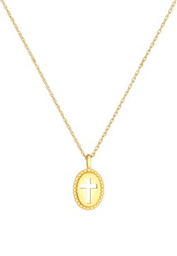 Elli - KREUZ - Halskette - gold