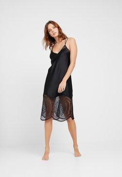 Calvin Klein Underwear - MEDALLION CHEMISE - Nightie - black