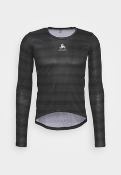 ODLO - CREW NECK ZEROWEIGHT CERAMIWA - Funktionsshirt - graphite grey/black