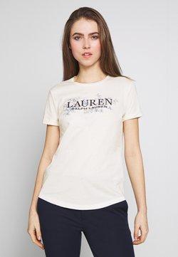 Lauren Ralph Lauren - LIQUID - T-Shirt print - mascarpone cream