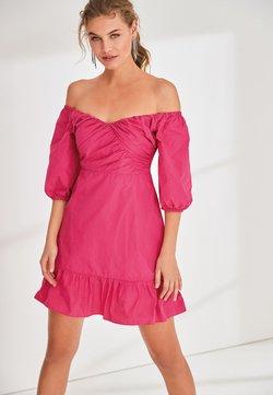 Next - TAFFETA  - Cocktailkleid/festliches Kleid - pink