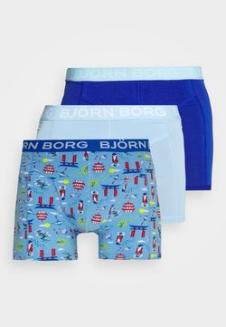 Björn Borg - JAPANESE SUMMER SAMMY 3 PACK - Shorty - placid blue