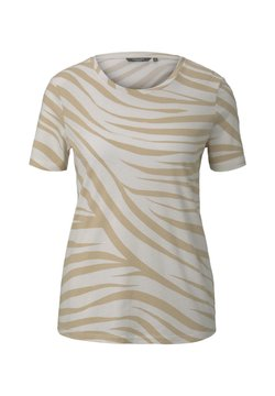 mine to five TOM TAILOR - T-Shirt print - ecru zebra design