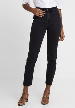 ONLY - ONLEMILY RAW - Jeans Skinny Fit - black denim