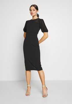 WAL G. - MIDI DRESS - Cocktailkleid/festliches Kleid - black