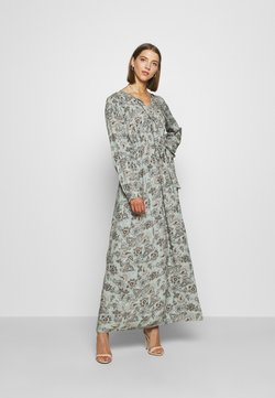 ONLY - ONLVIRGINIA LIFE LONG DRESS - Maxikjoler - chinois green