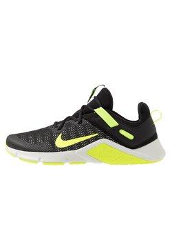 Nike Performance - LEGEND ESSENTIAL - Gym- & träningskor - black/volt/spruce aura