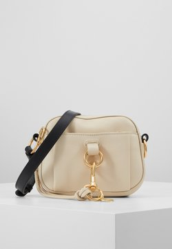See by Chloé - TONY CROSSBODY - Umhängetasche - cement beige