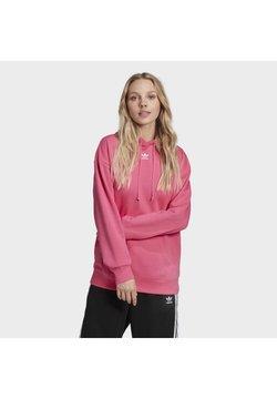 adidas Originals - TREFOIL ESSENTIALS HOODED - Kapuzenpullover - pink, not defined