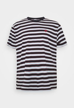 Jack´s Sportswear - STRIPED TEE - T-shirt imprimé - dark navy