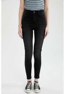 DeFacto - Slim fit -farkut - black