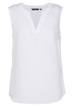mine to five TOM TAILOR - BLOUSE STRIPES - Bluse - white