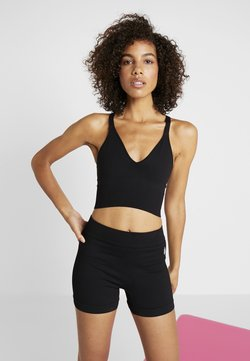 Free People - GOOD KARMA CROP - Top - onyx