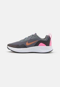 Nike Sportswear - WEARALLDAY UNISEX - Sneaker low - smoke grey/metallic copper/pink glow