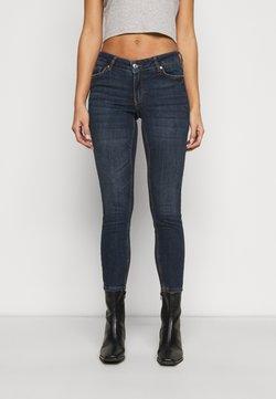 Vero Moda Petite - VMLYDIA SKINNY  - Jeans Skinny Fit - dark blue denim