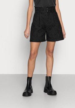 Custommade - NOVELLE - Shorts - anthracite black