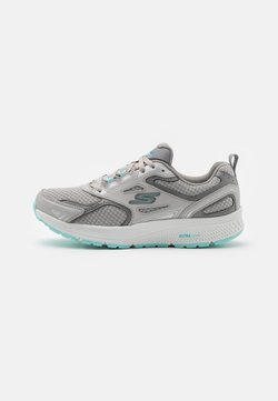 Skechers Performance - GO RUN CONSISTENT - Zapatillas de running neutras - gray/turquoise