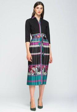 NIZA - Vestido camisero - fucsia