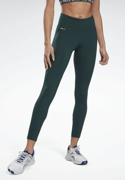 Reebok - LES MILLS® LUX PERFORM LEGGINGS - Tights - green