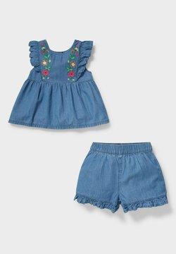 C&A - SET - Jeans Shorts - denim/light blue