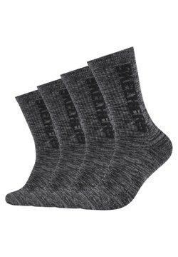 Skechers - 4 PACK - Sportsocken - dark grey random