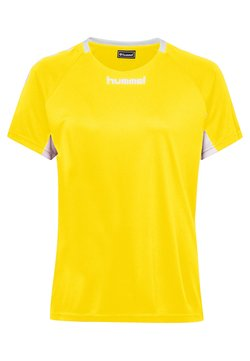 Hummel - CORE TEAM  - T-Shirt print - yellow