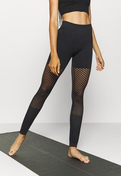 South Beach - SEAMLESS GRADUAL - Tights - black
