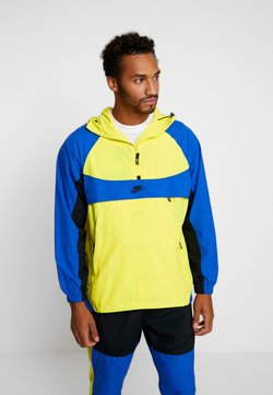 Nike Sportswear - RE-ISSUE - Windbreaker - dynamic yellow/game royal/black
