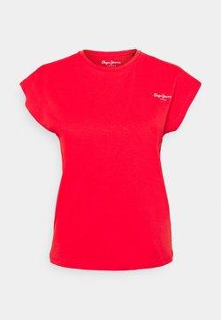 Pepe Jeans - BLOOM - Camiseta básica - mars red