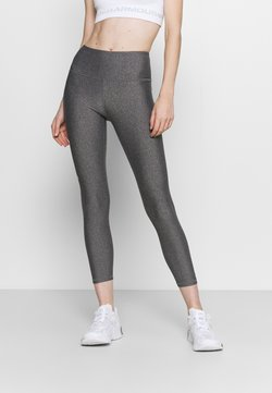 Under Armour - HI ANKLE - Tights - charcoal light heather