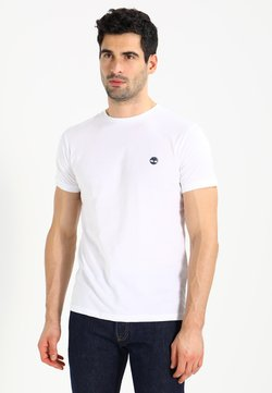 Timberland - CREW CHEST - T-shirt basique - white