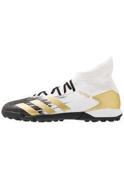 adidas Performance - PREDATOR 20.3 FOOTBALL BOOTS TURF - Astro turf trainers - footwear white/gold/core black