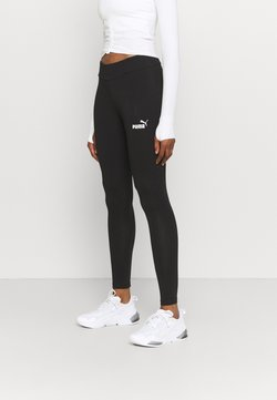 Puma - LEGGINGS - Tights - black