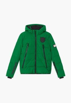 SuperRebel - SUSTAINABLE BASIC SHINY BOYS  - Kurtka snowboardowa - bottle green