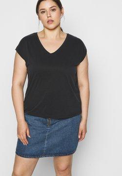 Pieces Curve - PCKAMALA TEE - T-shirt basic - black