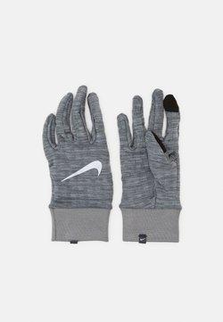 Nike Performance - MENS SPHERE RUNNING GLOVES - Fingerhandschuh - iron grey heather/grey fog/silver
