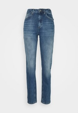 ONLY Tall - ONLVENEDA LIFE MOM - Relaxed fit jeans - dark blue denim