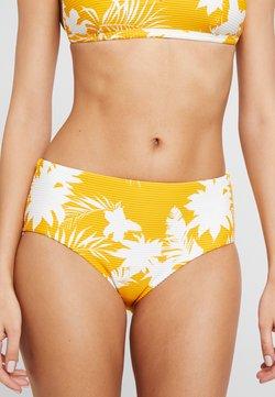 Seafolly - WILD TROPICS WIDE SIDE RETRO - Bikini-Hose - saffron