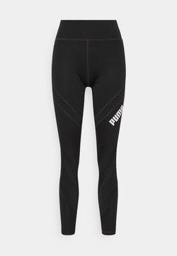 Puma - WAIST LEGGINGS - Tights - black
