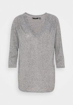 Vero Moda - VMSUPER - Camiseta de manga larga - light grey melange