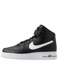 Nike Sportswear - AIR FORCE 1 '07  - Sneaker high - black/white