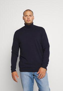 Selected Homme - SLHBERG ROLL NECK  - Neule - navy blazer