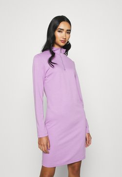 KENDALL + KYLIE - ZIP JUMPER DRESS - Jerseyjurk - lilac