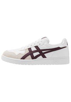 ASICS SportStyle - JAPAN UNISEX - Sneaker low - white/deep mars