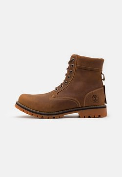 Timberland - RUGGED 6 IN PLAIN TOE WP - Schnürstiefelette - rust