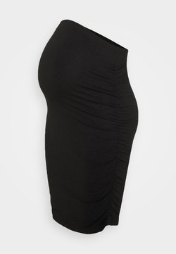 MAMALICIOUS - MLAIMY SKIRT  - Falda de tubo - black