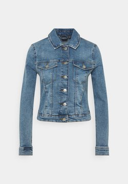 Vero Moda - VMTINE SLIM JACKET - Veste en jean - light blue denim