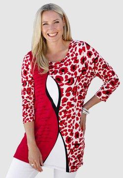MIAMODA - Bluse - rot,schwarz,weiß