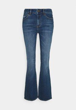 Ivy Copenhagen - TARA FLARE WASH BATH DISTRESSED - Jeans a zampa - denim blue
